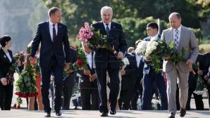 День языка: возложение цветов к памятнику Штефану чел Маре (ВИДЕО)