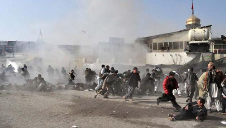 В Кабуле произошел третий за день взрыв