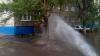 Горячий фонтан с камнями и асфальтом попортил жизнь жителям российского Абакана