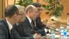 Валерий Стрелец на встрече с протестующими об отставке правительства