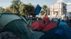 """Сторонники платформы """"DA"""" запретили унионистам раздачу триколоров на площади (ВИДЕО)"""