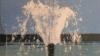 В Страшенах более часа из-под земли бил 20-метровый фонтан
