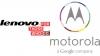 Lenovo совместно с Motorola разработали два новых смартфона