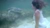 Итальянская модель провела фотосессию в компании крокодилов (ВИДЕО)
