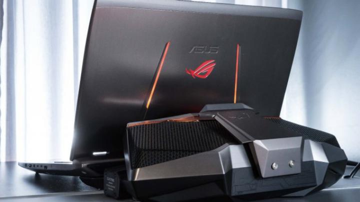 Asus показала игровой ноутбук с жидкостным охлаждением