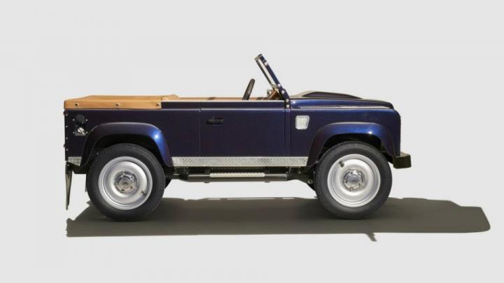 Land Rover создал «игрушечную» версию Defender