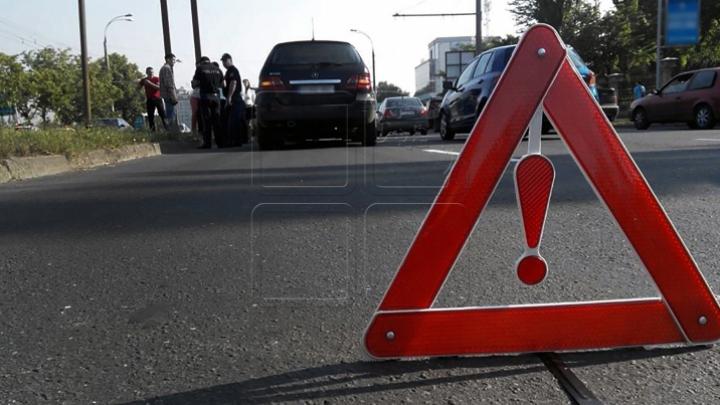ДТП на трассе Кишинев-Оргеев: микроавтобус с пассажирами столкнулся с грузовиком