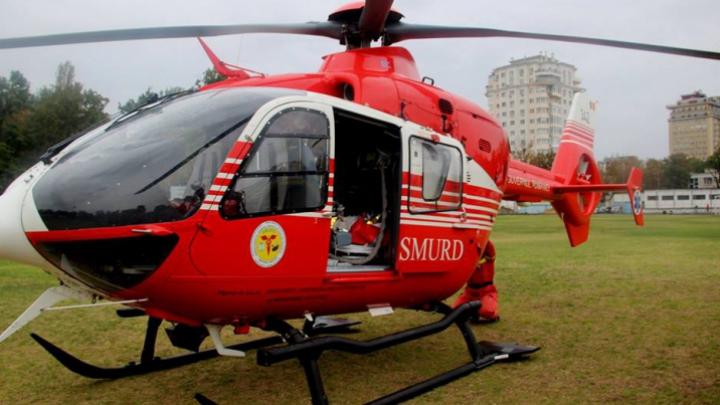 Фоторепортаж о новой миссии вертолета SMURD в Молдове