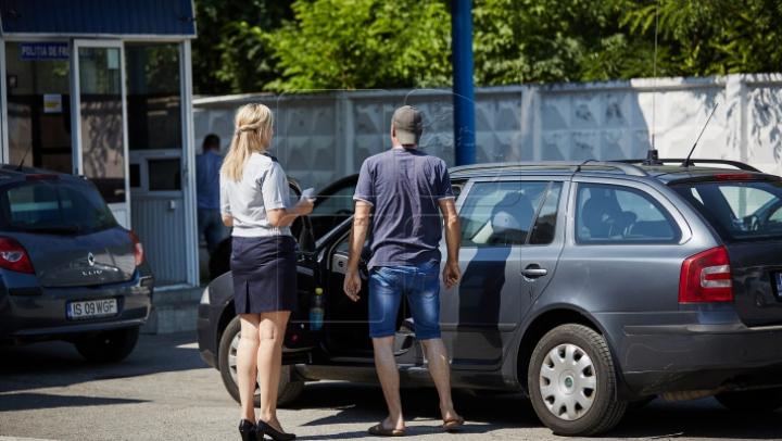 Молдаванина задержали при выезде из страны в машине, числящейся в угоне
