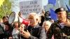 """Сторонники платформы """"DA"""" провели акцию протеста у здания Publika TV"""