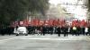 Сотни сторонников ПСРМ требуют отставки правительства у стен парламента