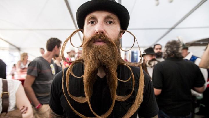 Чемпионат мира по самым стильным и необычным усам и бородам (ФОТО)