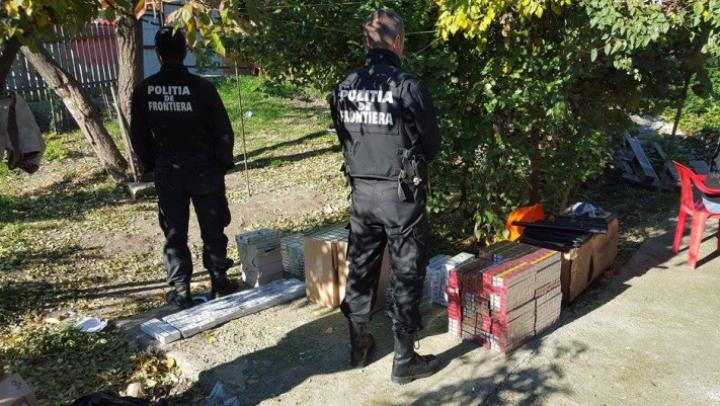 Румынские пограничные полицейские раскрыли схему контрабанды сигарет (ФОТО)