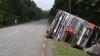 30 человек погибли в результате схода автобуса с дороги в Непале