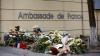 Кишинев скорбит: слова сочувствия, цветы и свечи в память о жертвах в центре Парижа