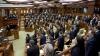 Заседание парламента началось с минуты молчания в память о жертвах последних терактов