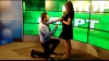 Ведущая Publika TV получила предложение руки и сердца в прямом эфире (ВИДЕО)