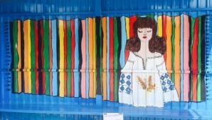 Остановку в селе Пухой превратили в произведение искусства