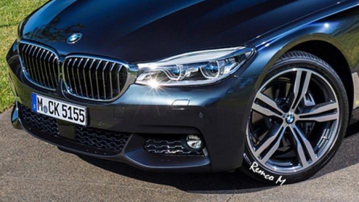 Премьера нового седана BMW 5-Series состоится на автосалоне в Париже