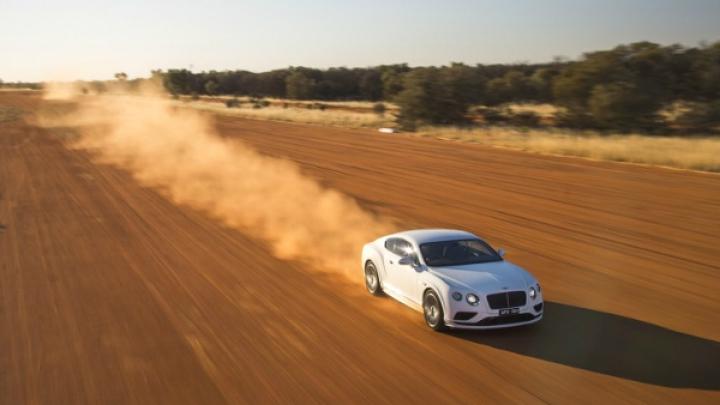 Bentley Continental GT Speed разогнали до 331 километра в час (ВИДЕО)