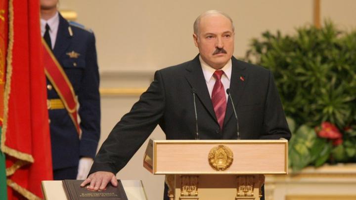 Александр Лукашенко дал президентскую клятву в пятый раз