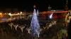 В Вифлееме зажгли огни на рождественской ёлке (ВИДЕО)