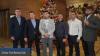 Бойцы, тренеры и президент Федерации К-1 Молдовы поздравили всех с зимними праздниками