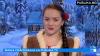 Певица Лучиана Спыну исполнила святочную песню