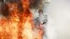 Избил и поджог собственную мать житель Ниспоренского района