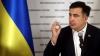 Саакашвили вышел на трибуну с заправленной в носок штаниной (ФОТО)