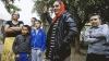 Несколько цыган села Минжир Хынчештского района пикетировали местную мэрию