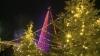 В центре Оргеева зажглись огни роскошной новогодней елки