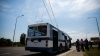 В столичный аэропорт будут курсировать троллейбусы с функцией автономного движения
