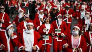 В Сиднее прошел благотворительный забег Санта-Клаусов