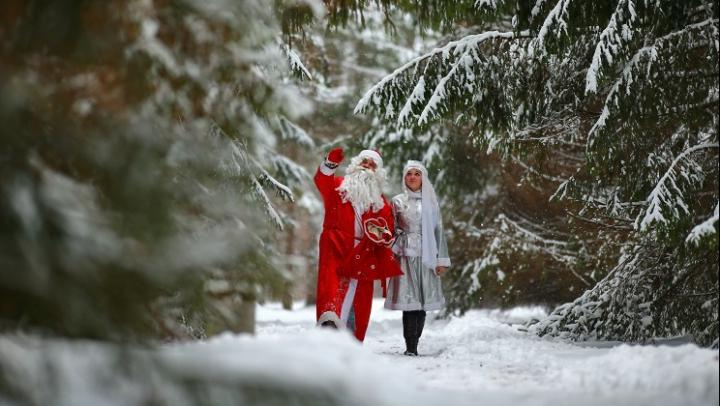 """Дед Мороз и Снегурочка могут оказаться """"нежелательными"""" на Украине"""