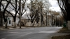 Пустынные столичные улицы в первый день Нового года (ФОТО)