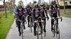 Турист сбил шесть велогонщиков во время тренировки