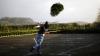 В Германии прошел чемпионат мира по метанию старых рождественских елок