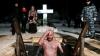 Почти 90 тысяч москвичей окунулись в крещенские проруби (ФОТО)