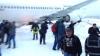 Пассажирский самолет совершил жесткую посадку в аэропорту Клуж-Напока