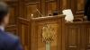 Парламент бойкотировал голосование за правительство Стурзы
