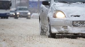 Молдову замело: машины застревают в сугробах