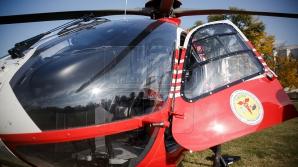 Впервые для транспортировки приднестровского пациента в Кишинев использовали вертолёт СМУРД