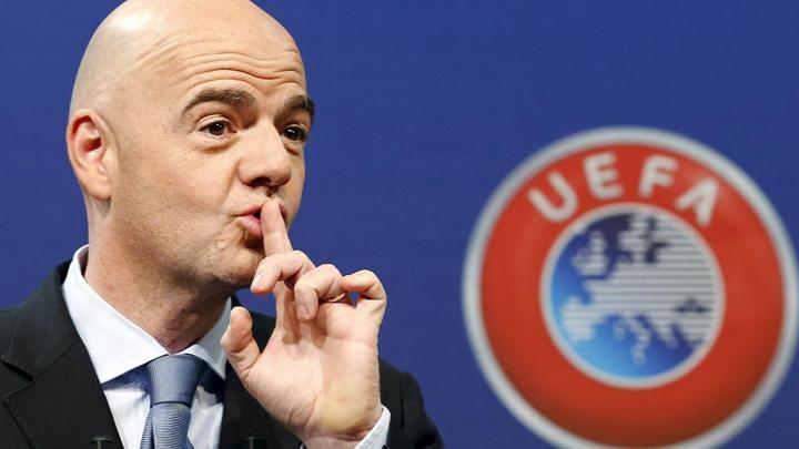 Исполком УЕФА поддержал кандидатуру Инфантино на выборах главы ФИФА