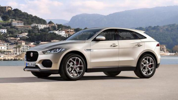 Jaguar вывел на тесты кроссовер E-Pace