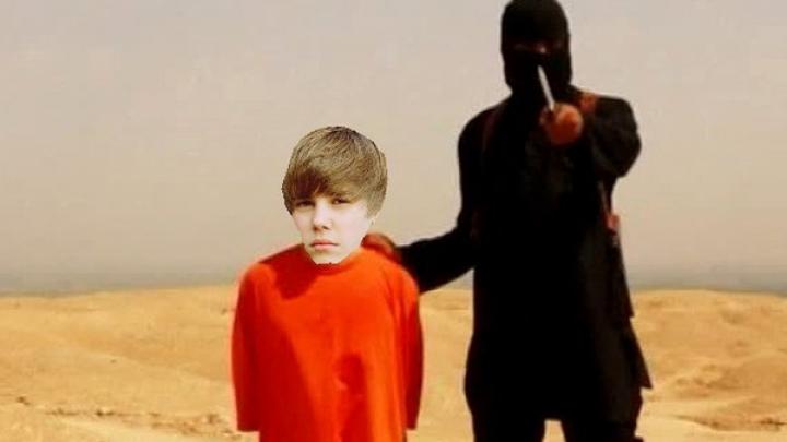 ИГИЛ использовало имя Джастина Бибера для распространения своего видео