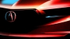 Acura представила первое тизерное изображение кроссовера MDX
