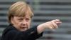 В Берлине проходят массовые акции за и против Меркель