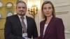 Галбур провел встречу с верховным представителем ЕС Федерикой Могерини