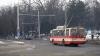 Из-за протестов в центре столицы изменились маршруты некоторых троллейбусов